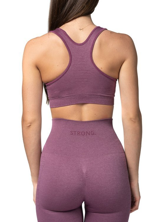 Strong. Bra Top. Dusty Rose.